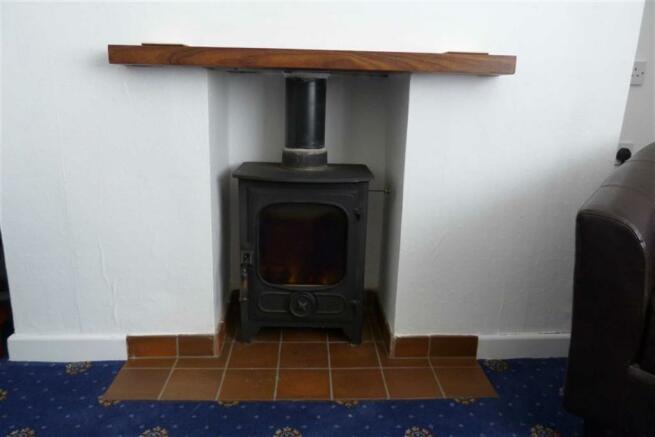 Log burner photo