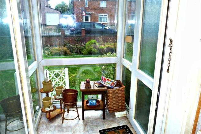 Entrance porch
