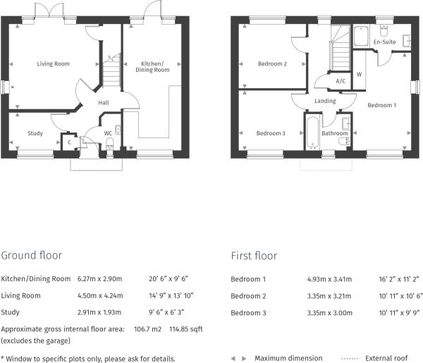 Anderbury Floorplan