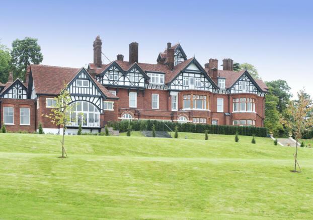 Rear Exterior Manor