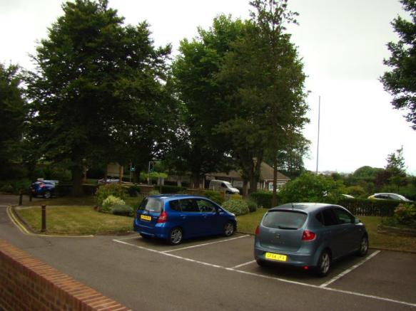 Resident parking area