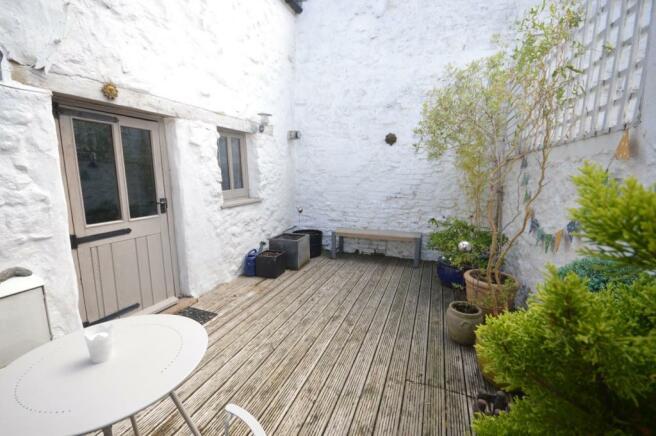 Decked Courtyard