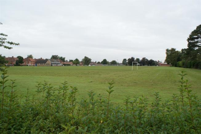 View across Playing Fields