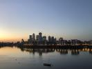 River View to Canary Wharf Evening
