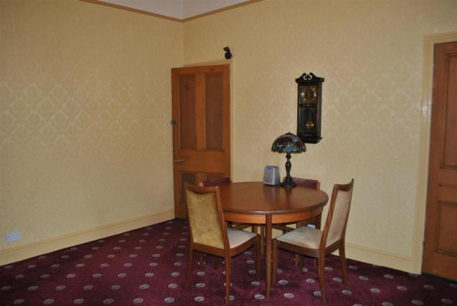 Rear dining room