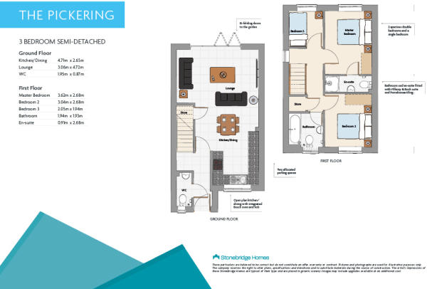 Pickering floorplans