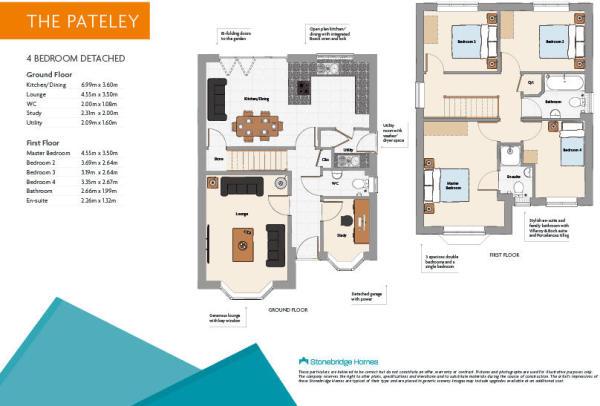 Pateley floorplans