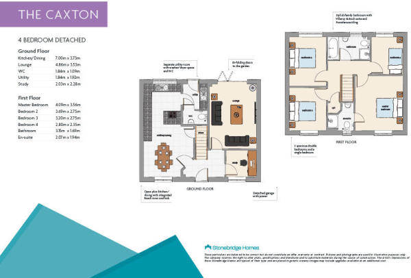 Caxton Floorplans