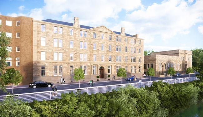 1 bedroom flat for sale in clyde street, , city centre, glasgow, g1 5jh, g1