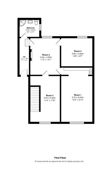 First floor 2D