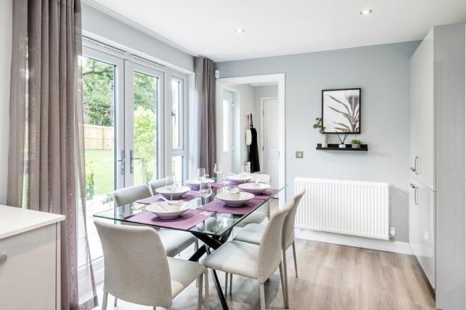 Image of The Corgarff kitchen/dining room