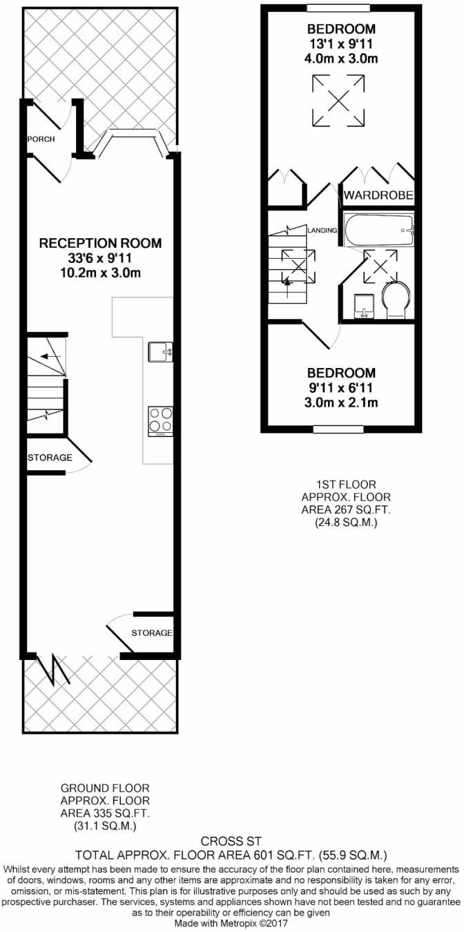 2 Bedroom End Of Terrace House For Sale In Cross Street Hampton 7474 Pin Diagram Hill Middlesex Tw12