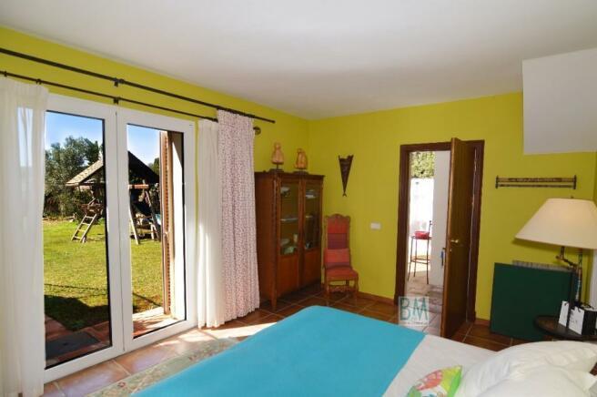 exterior guest room
