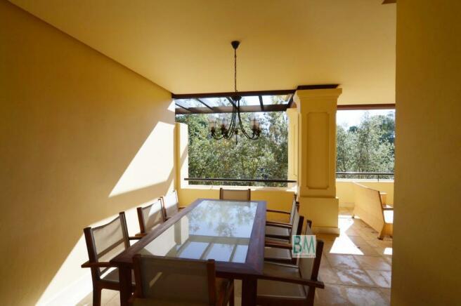 terrace eatting area