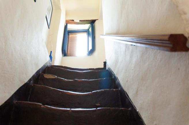 Stairs to Upper Floo