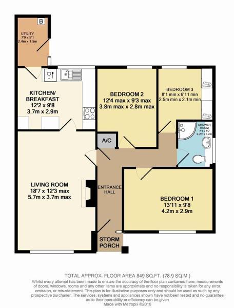 Floor Plan - 61 Goos