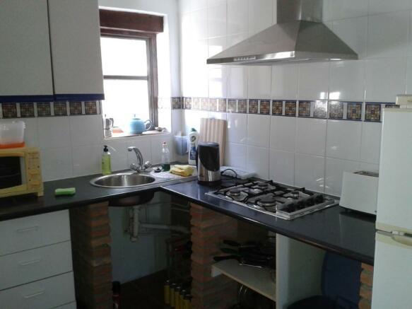 Chalet Kitchen Area