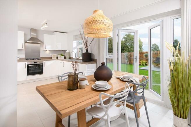 Kingsley open-plan kitchen/dining room