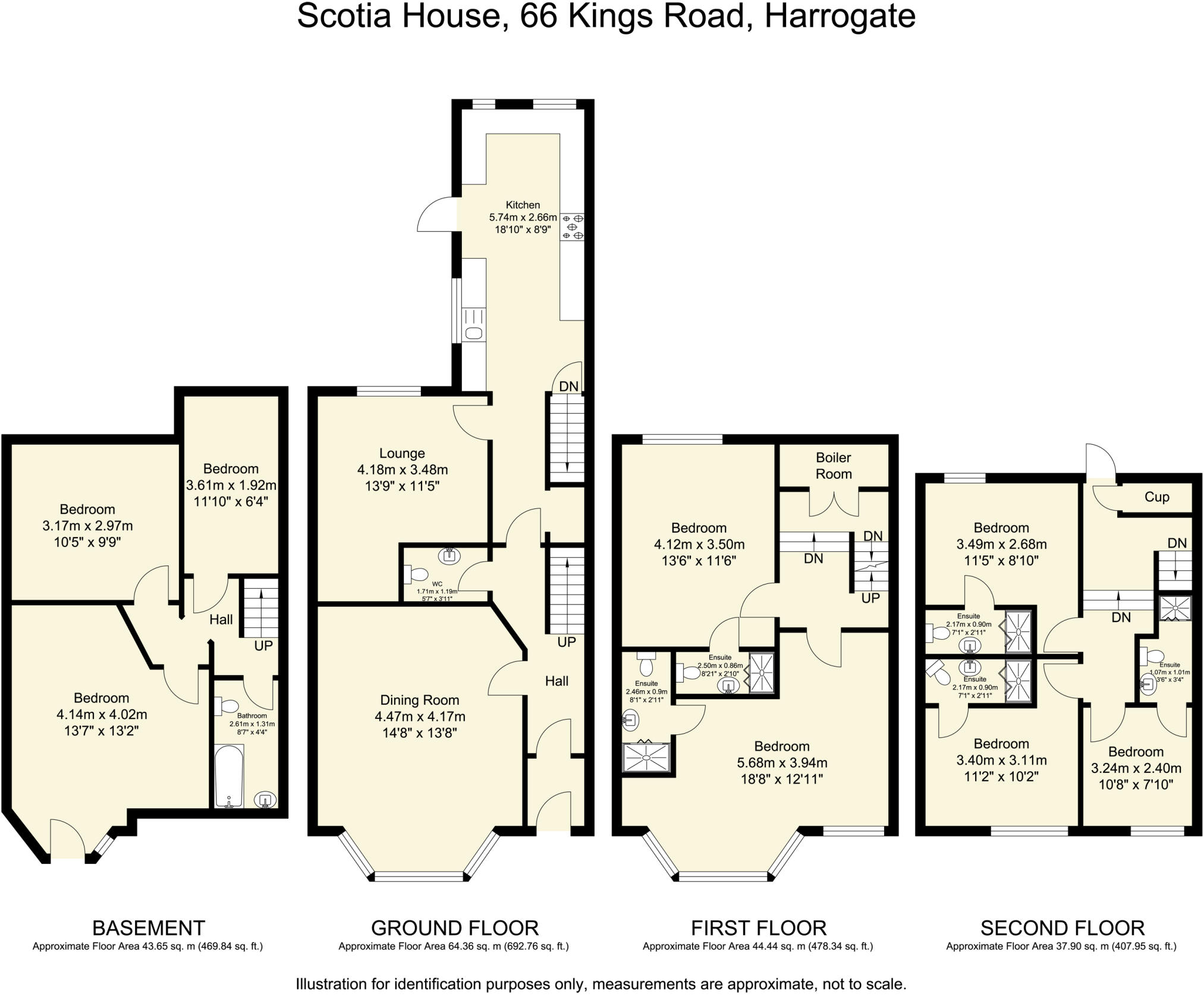 5 Bedroom Town House For Sale In Scotia 66 Kings Road 2000 King Of The Wiring Diagram Harrogate Hg1 5jr