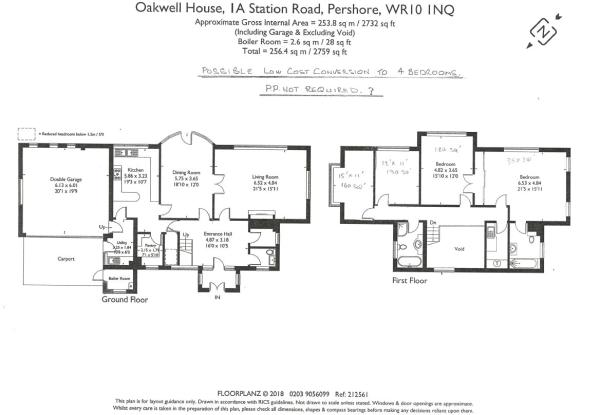 Potential 4 Bed Plan