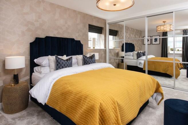 Alderney master bed