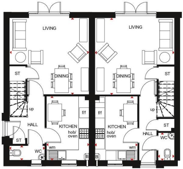 Folkestone ground floor plan