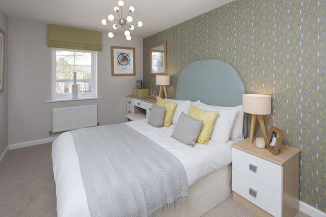 Typical Gloucester master bedroom