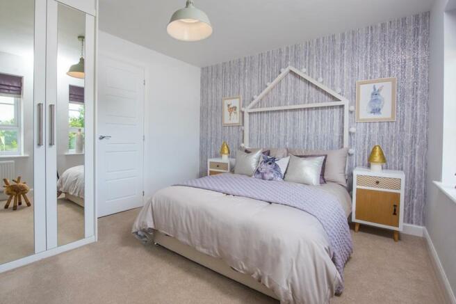 Hawley double bedroom