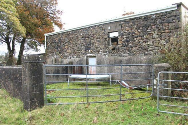 Rear vie of Barns