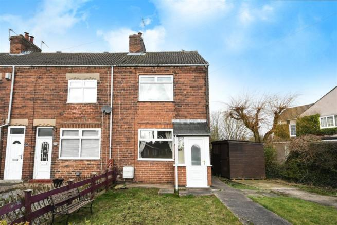 S44 Bus Time >> 2 bedroom end of terrace house for sale in Welbeck Road, Bolsover, Chesterfield, S44
