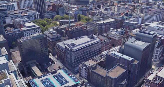 Interchange Place, Birmingham - Aerial