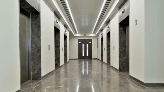 No.1 Colmore Square, Birmingham - Elevators