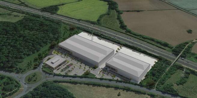 Sixways Park, Worcester - Aerial CGI