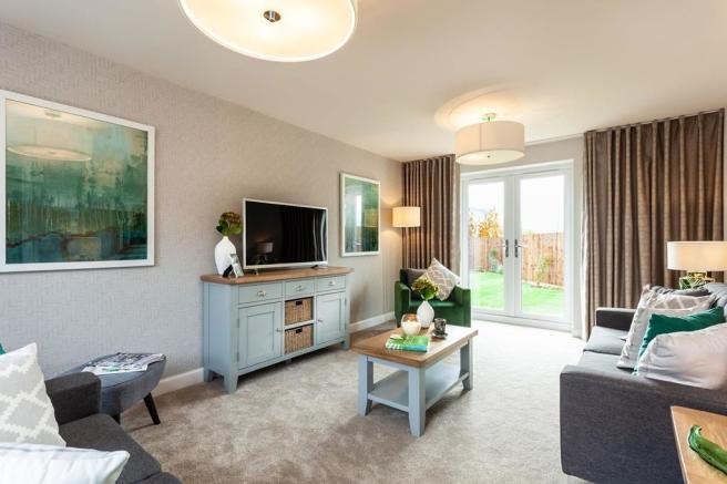 Interior view of our 3 bed Eskdale home