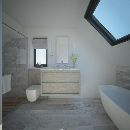 Bedroom four en-suite