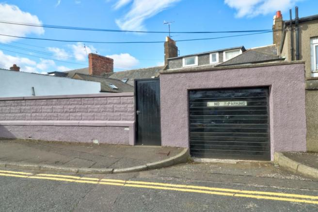 Garage & Rear Entrance