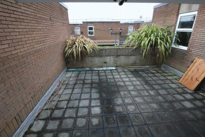 Patio roof Garden