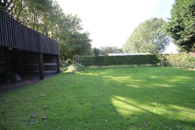 Rear Garden and Outbuilding
