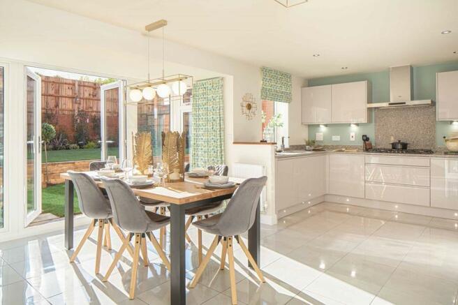 Holden Housetype  Kitchen/Dining Room