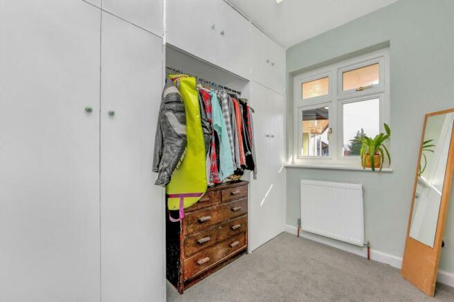 Third Bedroom with Storage
