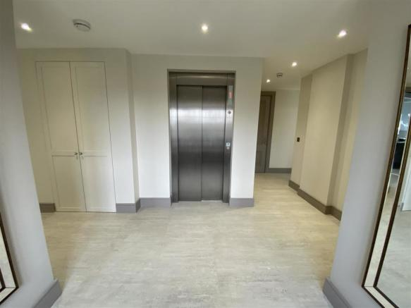 Entrance Hall Lift view
