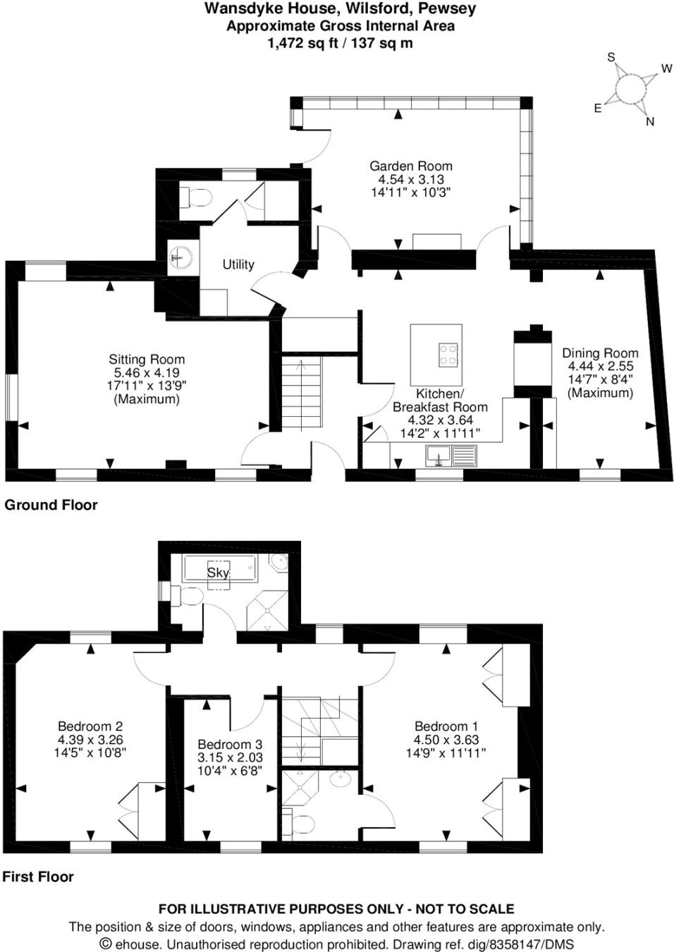 3 Bedroom House For Sale In Wilsford Pewsey Wiltshire Sn9 Average Cost Of Rewiring A Three Bed