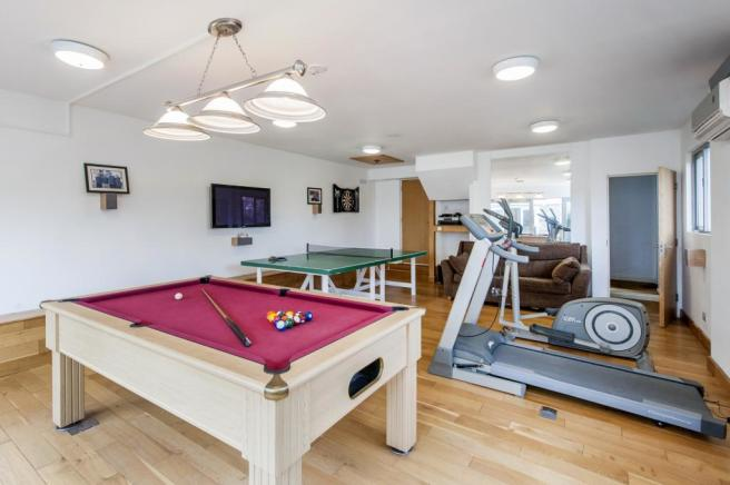 Games Room and Gym