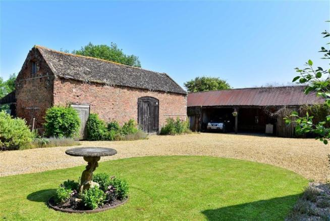 Two Storey Brick Barn with Planning Permission Gra