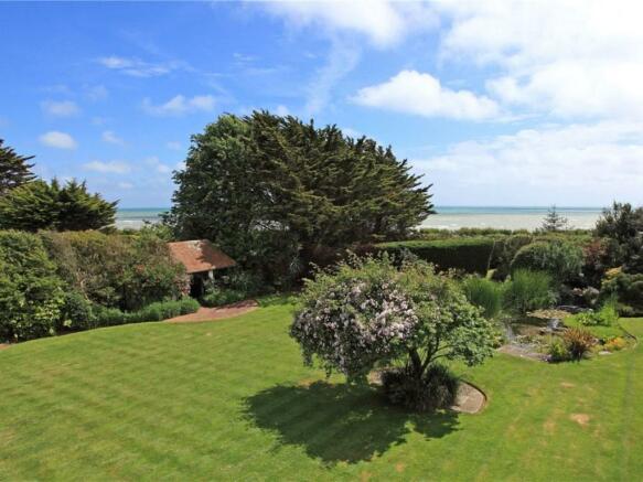 Garden View To Sea
