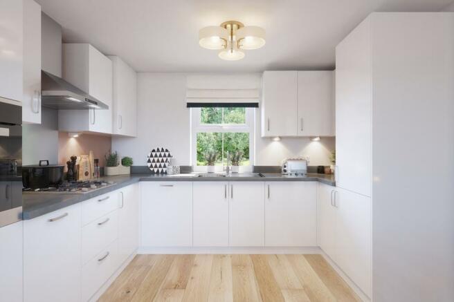 Fairway open-plan kitchen