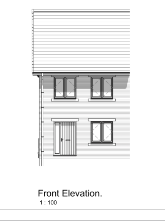 3 Bed Semi Front