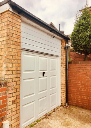Garage with Drive for several Vehicles