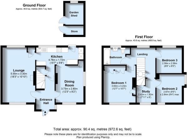 Saltwood Rd, 1 - floorplan, Seaford.JPG