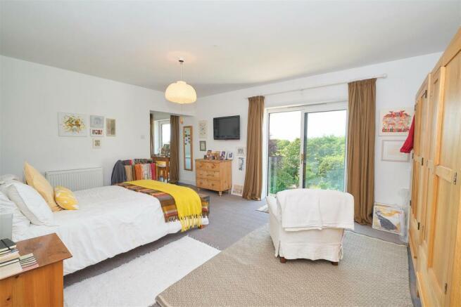 Master Bedroom & View